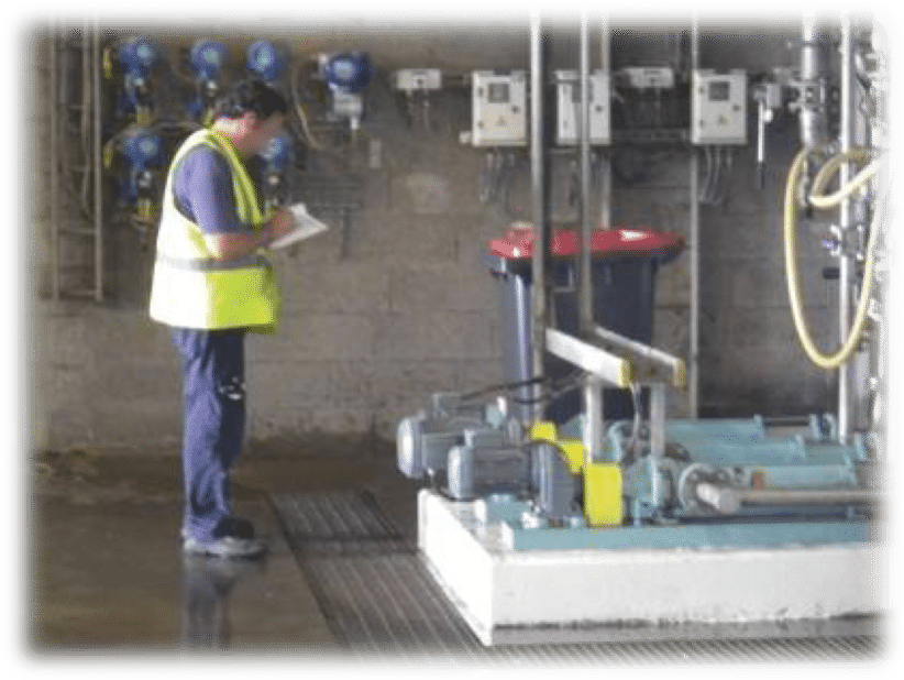 Inspection par la production