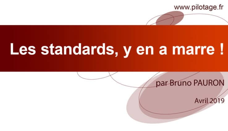 Bannière Article Les standards, y en a marre